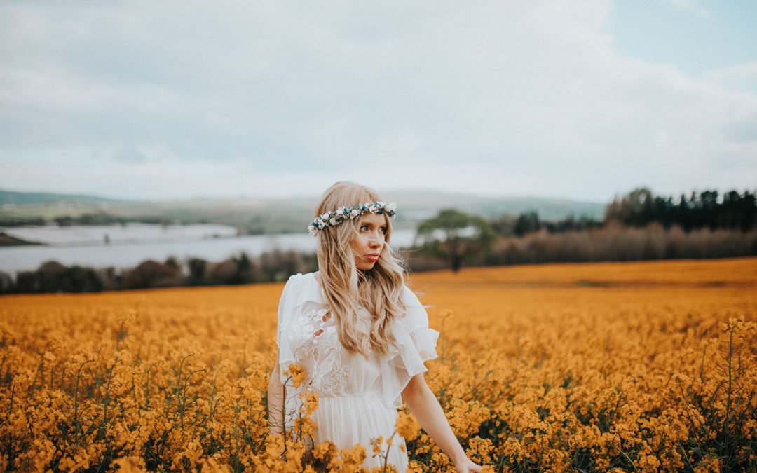 Boho Vintage Wedding | Craft Village | Derry