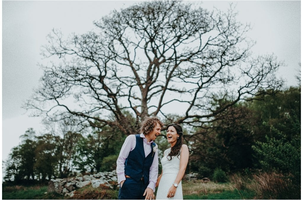 Back Garden Marquee Wedding in Ireland