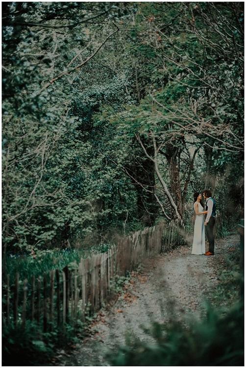 flower crown alternative bride northern ireland