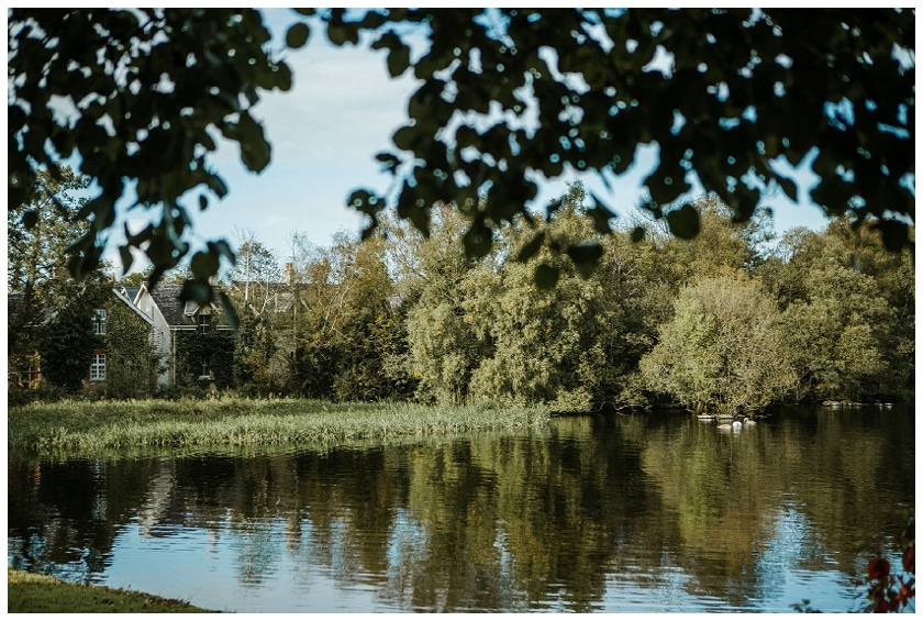 the lake at lusty beg island