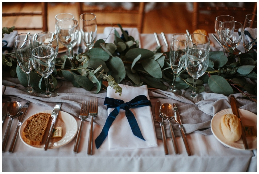 wedding reception styling by Betty Williamson