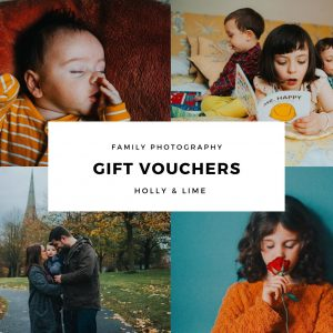 family photography vouchers